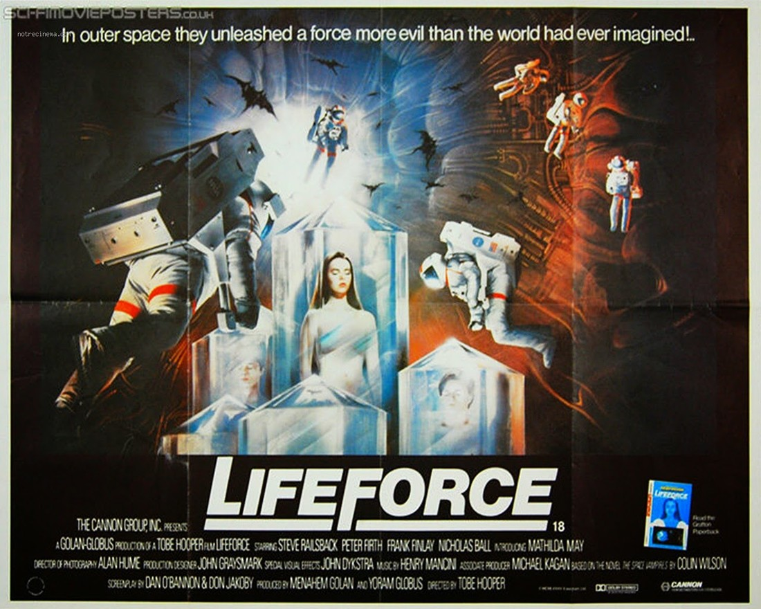 Lifeforce Tobe Hopper